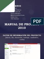 Manual de Proyect 2010