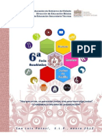 Convocatoria 2012-2013 Feria Academica Final