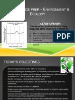 PSSA Prep Envt-Ecology