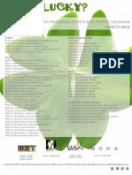 Dallas/Fort Worth Metroplex Events & Activities Calendar - March 2013