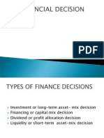 Financial Decission