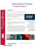 Fusion Power White Paper - Executive  Summary