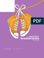 Adolescentes Ecuatorianos en Cifras