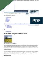 Www.formula as.ro 2013 1053 Medicina Naturii 44 Papadia
