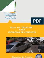 Tramites Licencias de Conducir