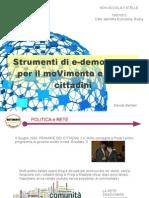 Strumenti Di eDemocracy M5S Lazio