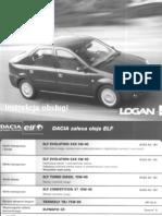 Dacia Logan sedan - instrukcja obsługi