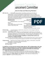 SAC Recruitment Letter 2013