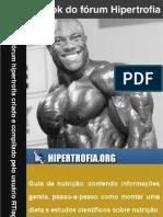 E-book hipertrofia (feito pelo usuário RTiago)
