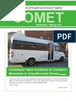 Comet Spring 2013 Newsletter