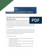 Online Learning Newsletter, February 2013