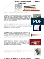 Instrumentos de Artes Plasticas