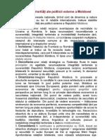 Principalele priorităţi ale politicii externe a Moldovei