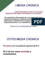 otitis media cronica