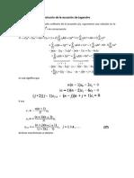 Ecuación de Legendre