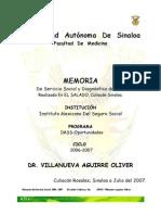 memoria dr