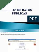 Bases de Datos Publica