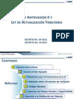 Ley Antievasion II y La Ley de Actualizacion Tributaria