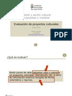 Gestión cultural.proyectos