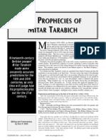 The Prophecies of Mitar Tarabich