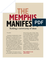 The Memphis Manifesto