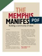 The Memphis Manifesto