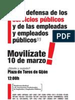 Cartel Plataforma Manifestacion 10 de Marzo-1