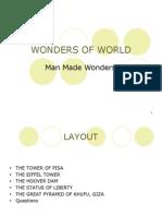 Wonders of World1