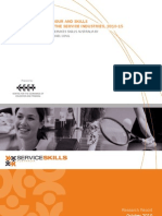 Service Skills Australia - Forecasts of Labour and Skills Requirements in the Service Industries (2010)
