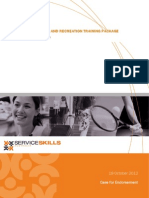 Service Skills Australia - SIS10 Sport, Fitness and Recreation Training Package