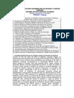 Informe Uruguay Enero 2013