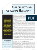 "The ""Arab Spring"" and US Global Hegemony"