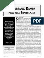 T. Lobsang Rampa pt 2