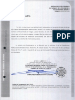 Investigaciones funcionarios PGJE