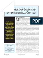 Disclosure of Earth and Extraterrestrial Contact