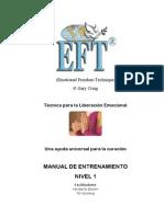 Manual EFT Nivel 1
