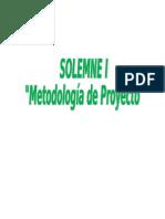 Solemne i Metodologia de Proyecto