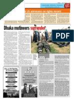 TheSun 2009-02-27 Page08 Dhaka Mutineers Surrender