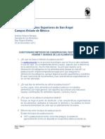 sanidad pasteurización