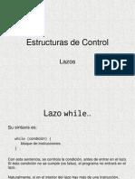 Estructuras de Control Lazos