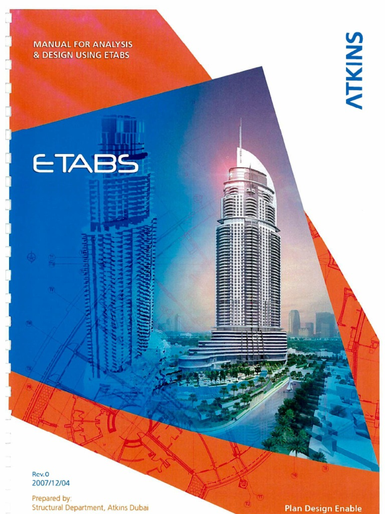 ETABS Manual by Atkins | Structural Load | Beam (Structure)