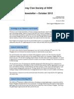 2012 oct murray clan newsletter