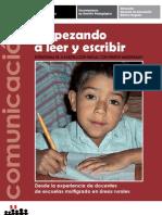 Comunicacion Empezando Leer y Escribir