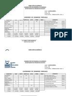 Calendario Examenes 2013-A Turno Vespertino