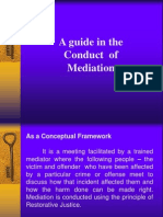 Guide in the Conduct of Mediation & Conferencing(Edited)