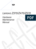 Lenovo Z370Z470Z570 Hardware Maintenance Manual V1.0