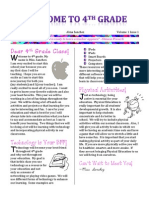 Newsletter Technology Class