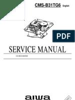 Aiwa CD Mechanism Cms-b31tg6
