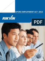 Singapore Employment Act 2013