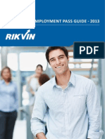 Singapore Employment Pass Guide 2013